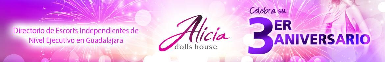 Alicia Dolls House: Escorts en Guadalajara de nivel ejecutivo.